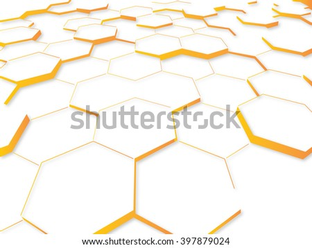abstract mosaic modern in the form of a honeycomb for your design