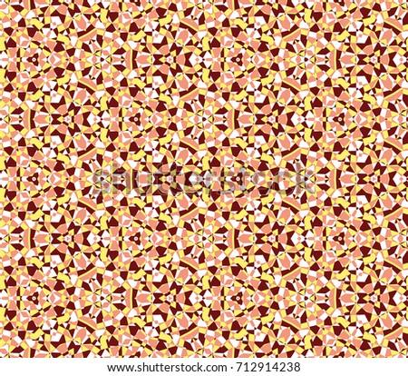 abstract mosaic ornament
