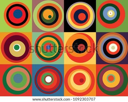 abstract mosaic pattern ala