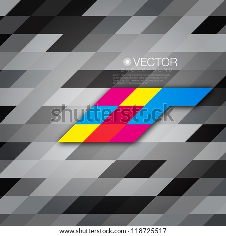 Abstract Mosaic Vector Background for Your Text / Presentation / Website / Layout / Card