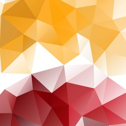 Abstract multicilored  geometrical  pattern made of triangles, vector illustration. Background for posters, websites, mobile apps