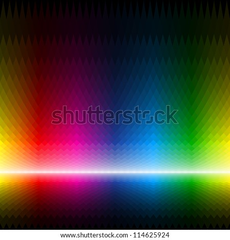 Abstract multicolor background. Seamless vector.