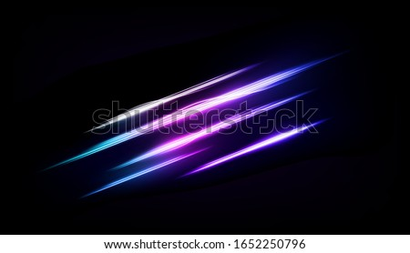 abstract multicolor line of
