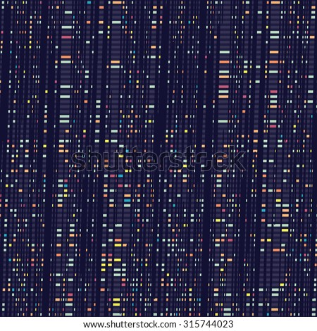 Stock Photo Abstract multicolored modern dashed stroke urban motif seamless pattern.