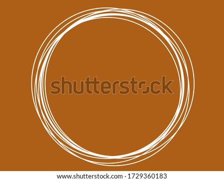 abstract multiple white circle