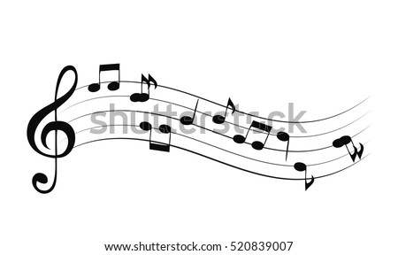 Shutterstock Abstract music background vector illustration for your design. EPS10