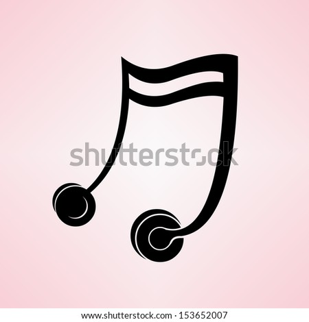 abstract music concept of