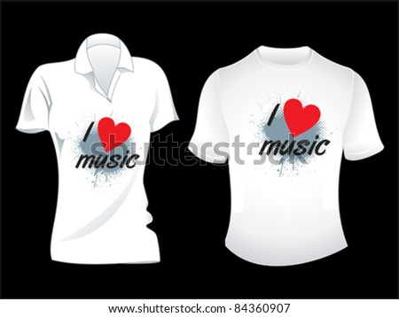 abstract musical tshirt design vector illustration