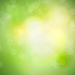 Abstract natural light background vector illustration