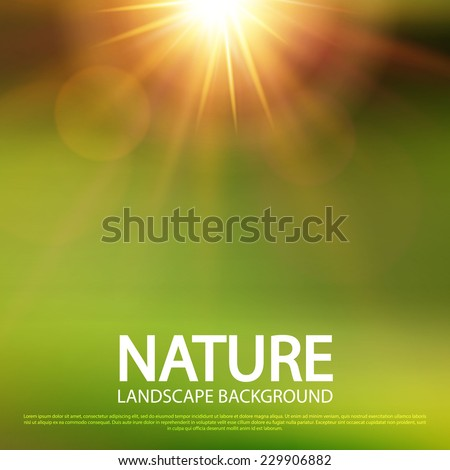 abstract nature blur background