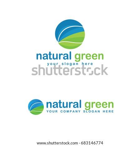 Abstract Nature Logo Template