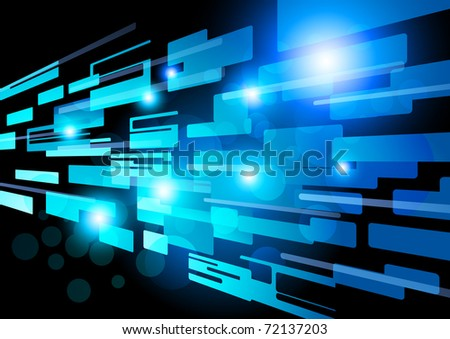 Abstract Network Vector Design. Vector illustration EPS10.
