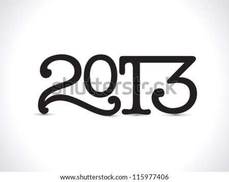 abstract new year wallpaper vector illustration - stock vector