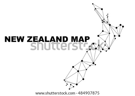 New zealand vector map, new vector, map vector, new zealand png.