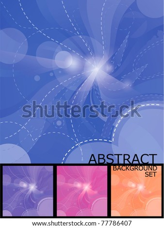 abstract night blue background, also in purple, pink and skin colors