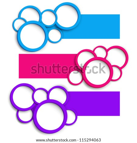 abstract number line background for your text