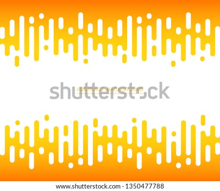 Abstract of fresh yellow color stripe lines pattern background, vector illustrator #1350477788