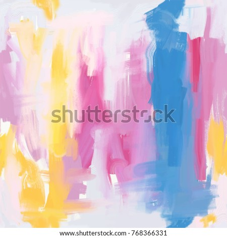 abstract oil painting seamless