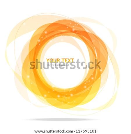 Stock Photo Abstract orange background