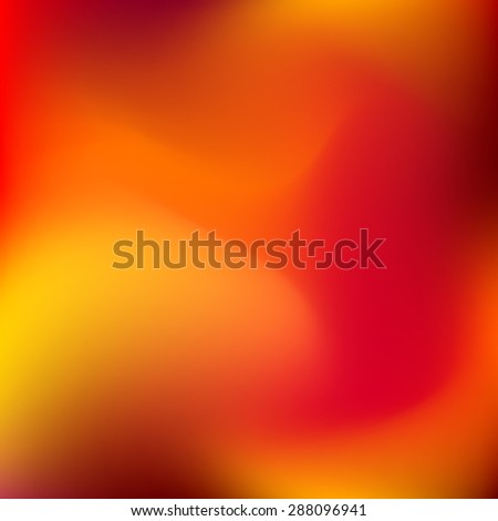 Abstract orange blur color gradient background for web, presentations and prints. Vector illustration.