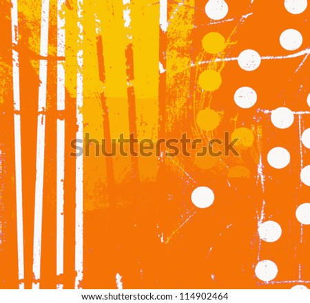 abstract orange graphic design background