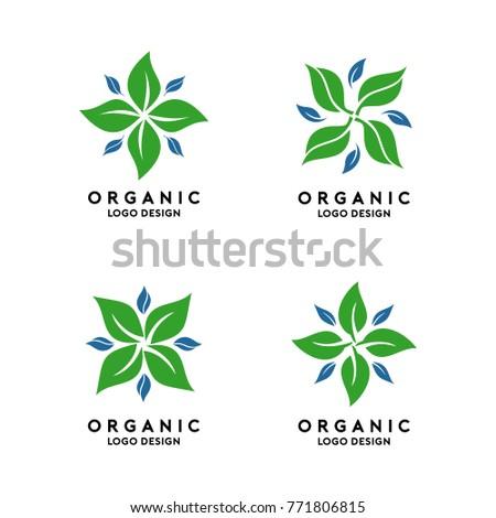 Abstract Organic Logo Template
