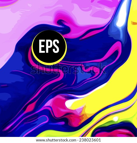 abstract paint swirl background