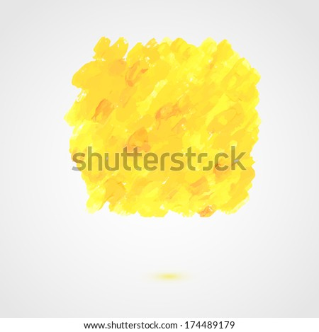 Abstract paint vector banner - Shutterstock ID 174489179