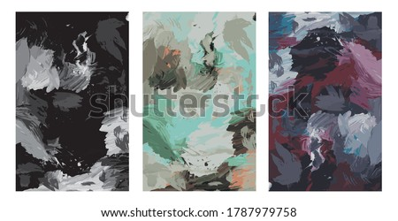 abstract painting backdrops in