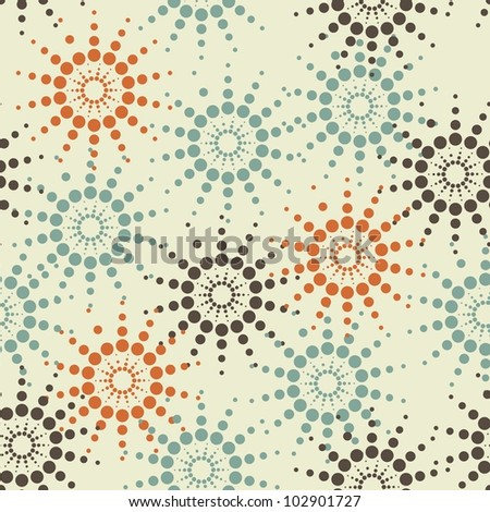 abstract pattern - stock vector