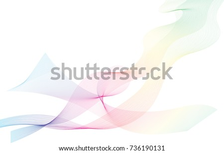 abstract  pattern colored line