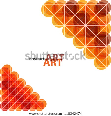 Abstract pattern covers