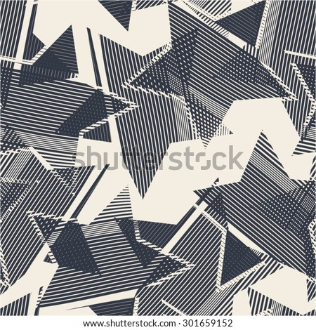 abstract pattern from the stars