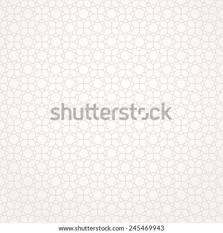 Abstract pattern in Arabian style. Seamless background. Beige and white texture.