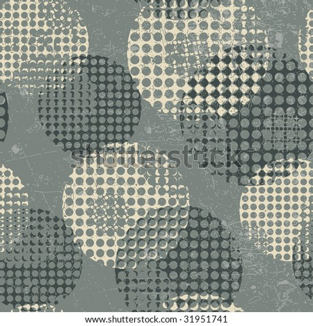 abstract pattern in grunge style