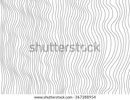 Abstract pattern line art background, optical illusion. Amazing hand drawn doodle art. Vector illustration. Hand drawn artwork. Poster, banner, web mobile interface template. Black and white