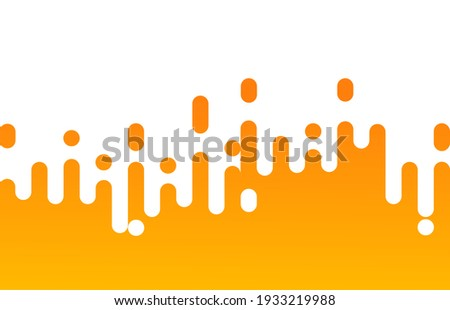 Abstract pattern yellow mustard Rounded Lines Halftone Transition. background with gradient, vertical rounded stripes. Vector Background Illustration. Stockfoto ©