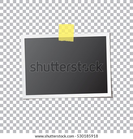 abstract photo frame fixed by