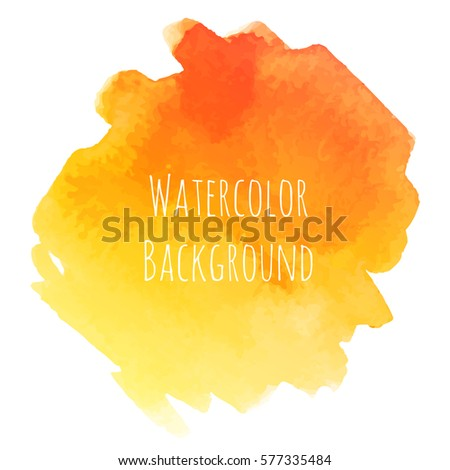 Abstract picturesque grunge background. Watercolor trendy hand drawn artistic brushstroke illustration