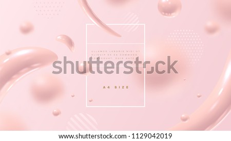 abstract pink background with