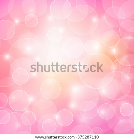 abstract pink bokeh light