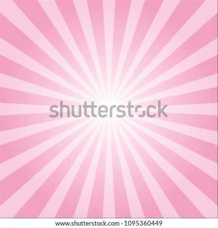 abstract pink colorful ray burst background.vector