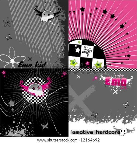 abstract pink emo background