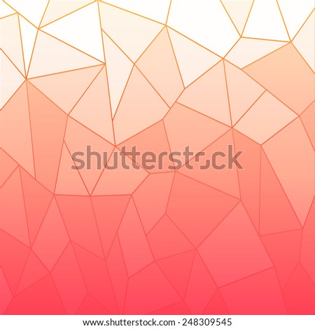 abstract pink geometric polygon