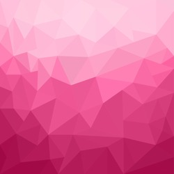 Abstract pink geometrical background - Vector