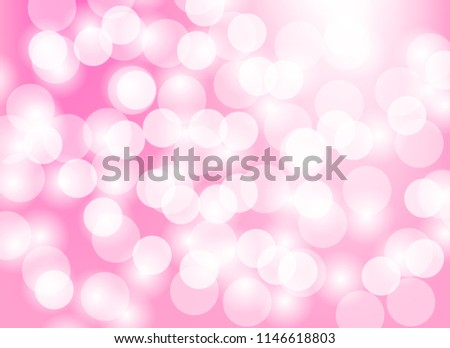 Abstract Pink Light Bokeh Blurred Background.design