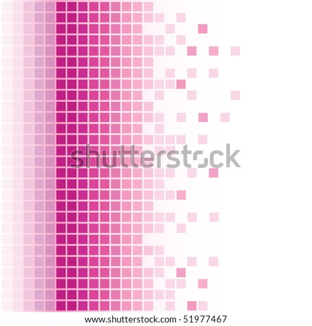 abstract pink square pixel mosaic background