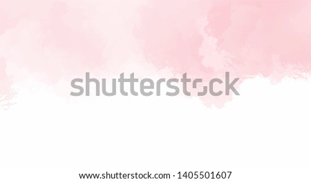 abstract pink watercolor