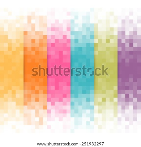 Abstract pixel background.