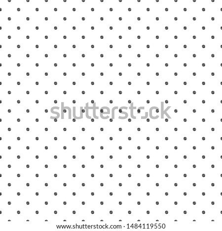 Abstract polka dot pattern with hand drawn dots. Cute vector black and white polka dot pattern. Seamless monochrome doodle polka dot pattern for textile, wallpapers, wrapping paper, cards and web.